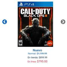 Gameplanet: Call Of Duty Black Ops 3 para PS4 o Xbox One a $795
