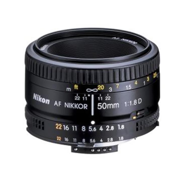 Sears en línea: lente Nikon Af Nikkor 50Mm F/1.8D a $1,609