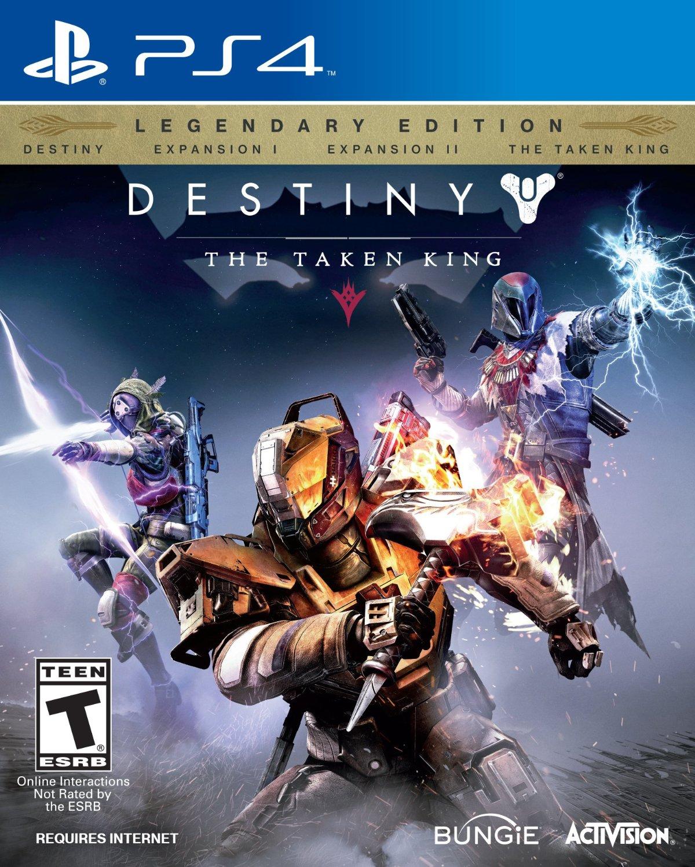 Amazon Mx: Destiny The Taken King, Legendary Edition para PS4 o Xbox 360 a $355