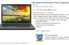 Amazon: laptop Acer Aspire NX.MLVAA.002 Quad-Core A10-4600M 1.7 GHz