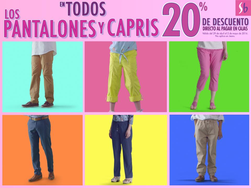 Suburbia: Todos los pantalones y capris 20% de descuento