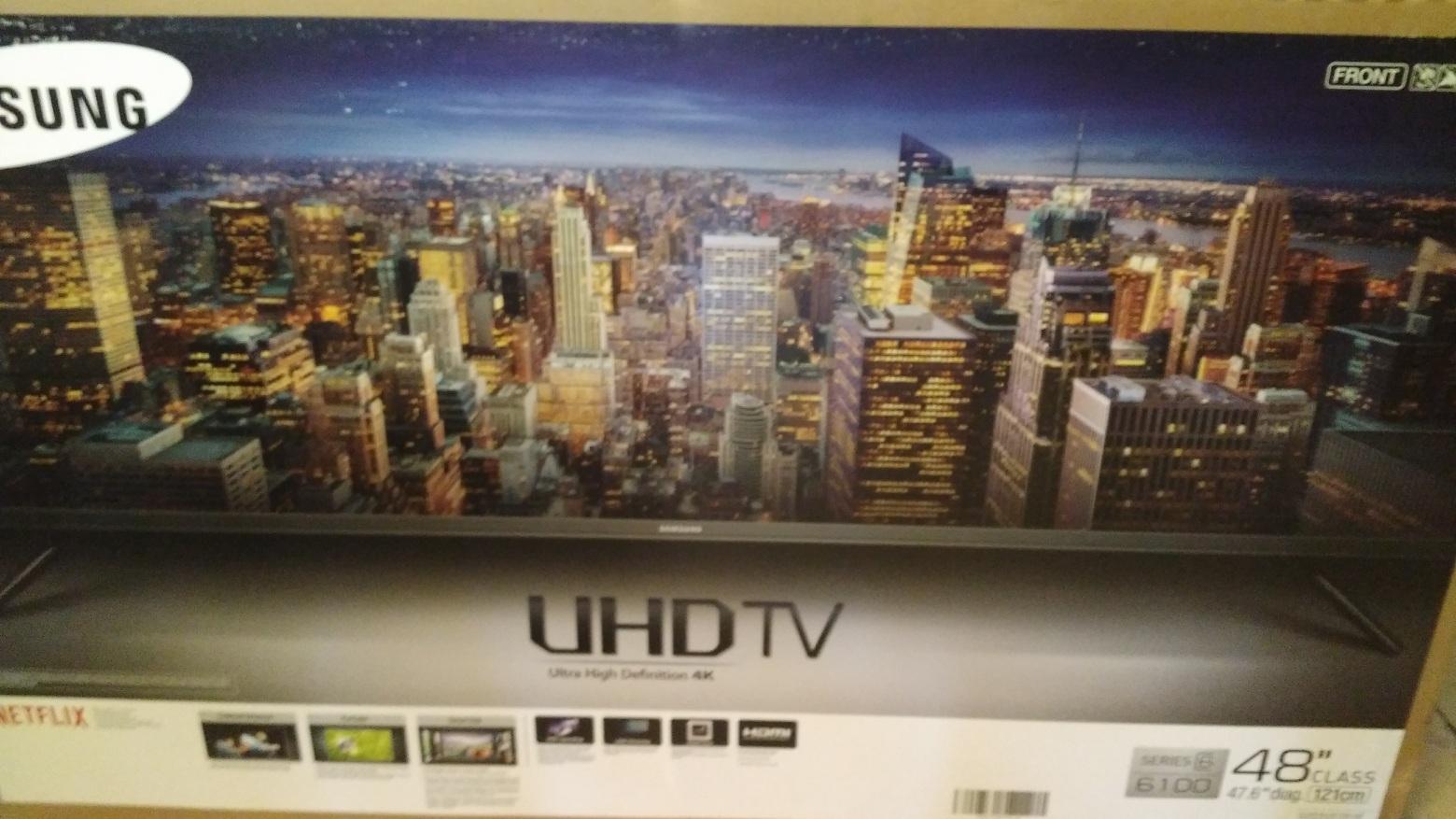 "Walmart: Samsung TV 48"" UHD 4K a $8,399.02"