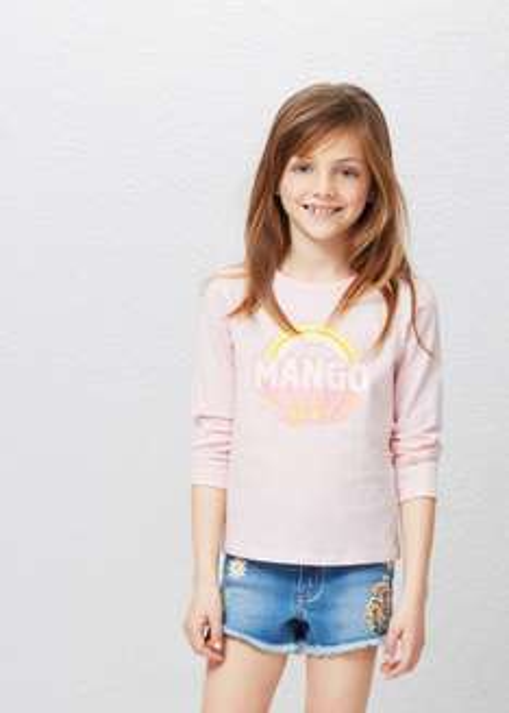 Tienda mango online: blusas para niña $59