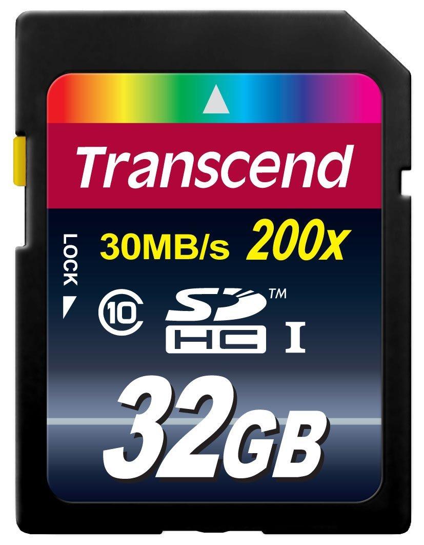 Amazon: Memoria SD Transcend 32Gb Clase 10 a $139