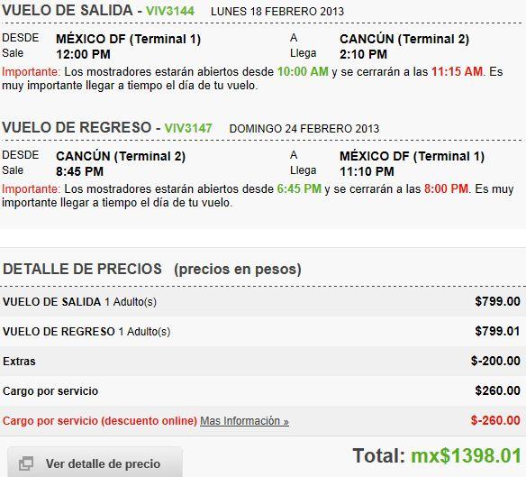 Vivaaerobus: vuelos nacionales desde $699 sencillo