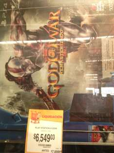 Walmart: Playstation 4 con God of War a $6,549.03