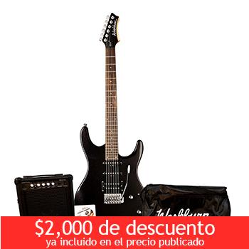 Costco en línea: Washburn Guitarra Eléctrica + Amplificador Modelo RX10PAK a $2,999