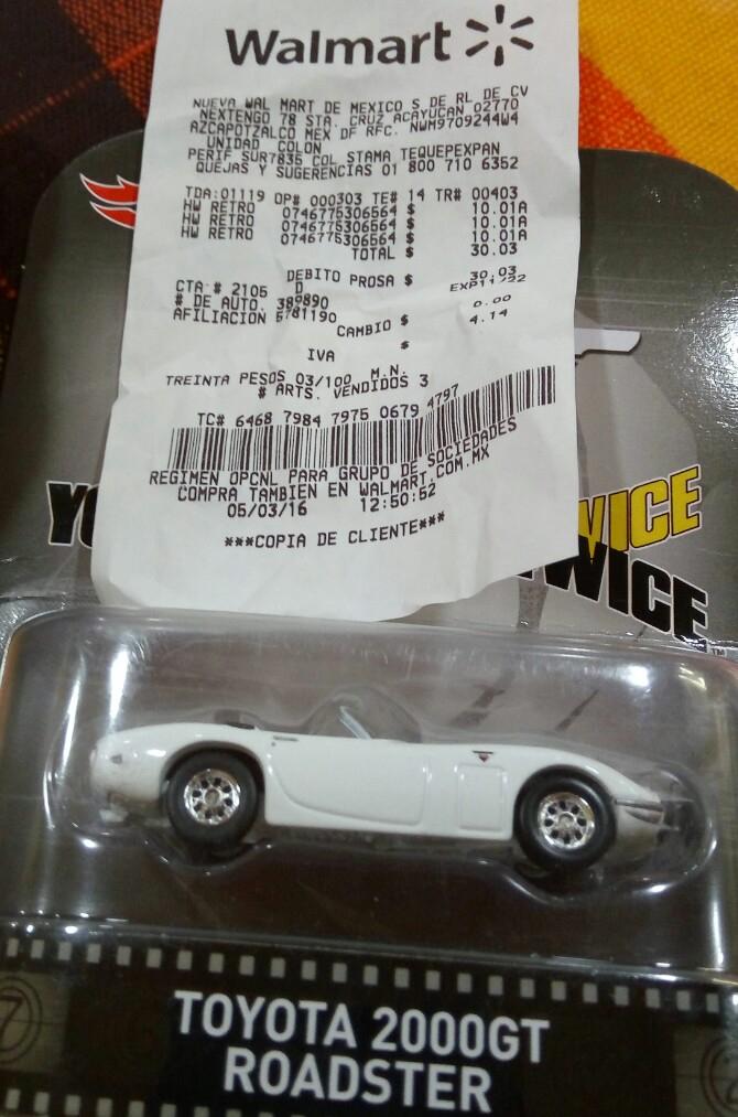 Walmart Unidad Colón: Hot Wheels Retro a $10.01