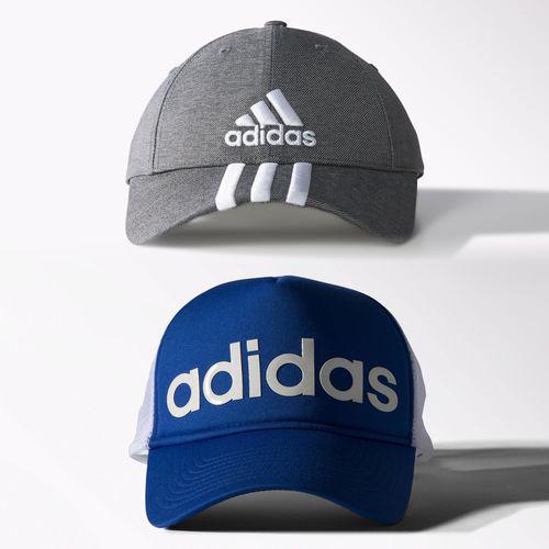 Adidas en línea: Gorra de entrenamiento Trucker Azul a $149.50 + envío gratis