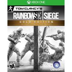 Best Buy en línea: Rainbow Six Siege Gold Edition para Xbox One a $899