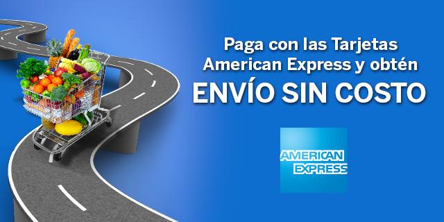 Superama en línea: envío gratis pagando con American Express