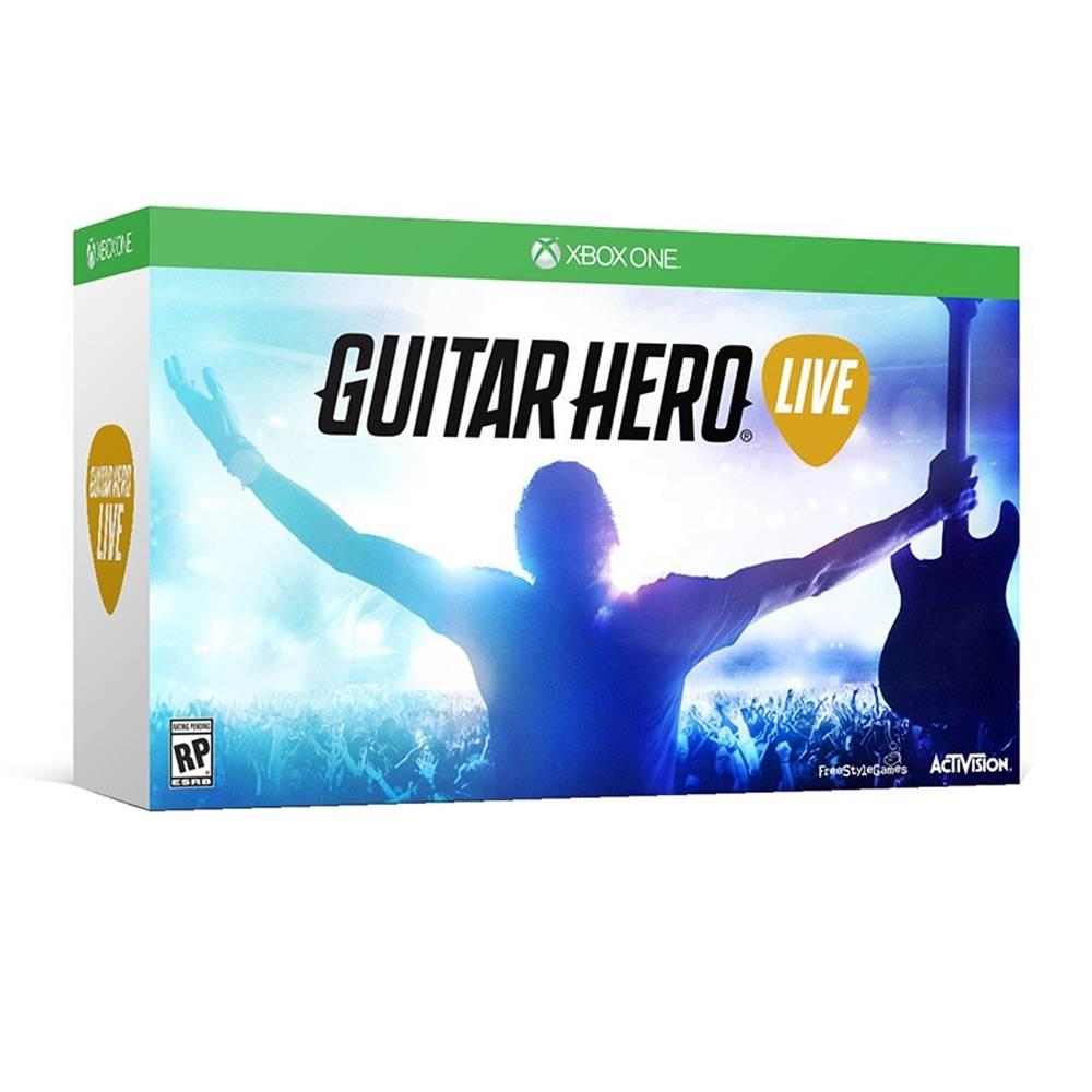 Walmart en línea: Guitar Hero Live para XONE, WII U, X360 y PS3 a $1,199