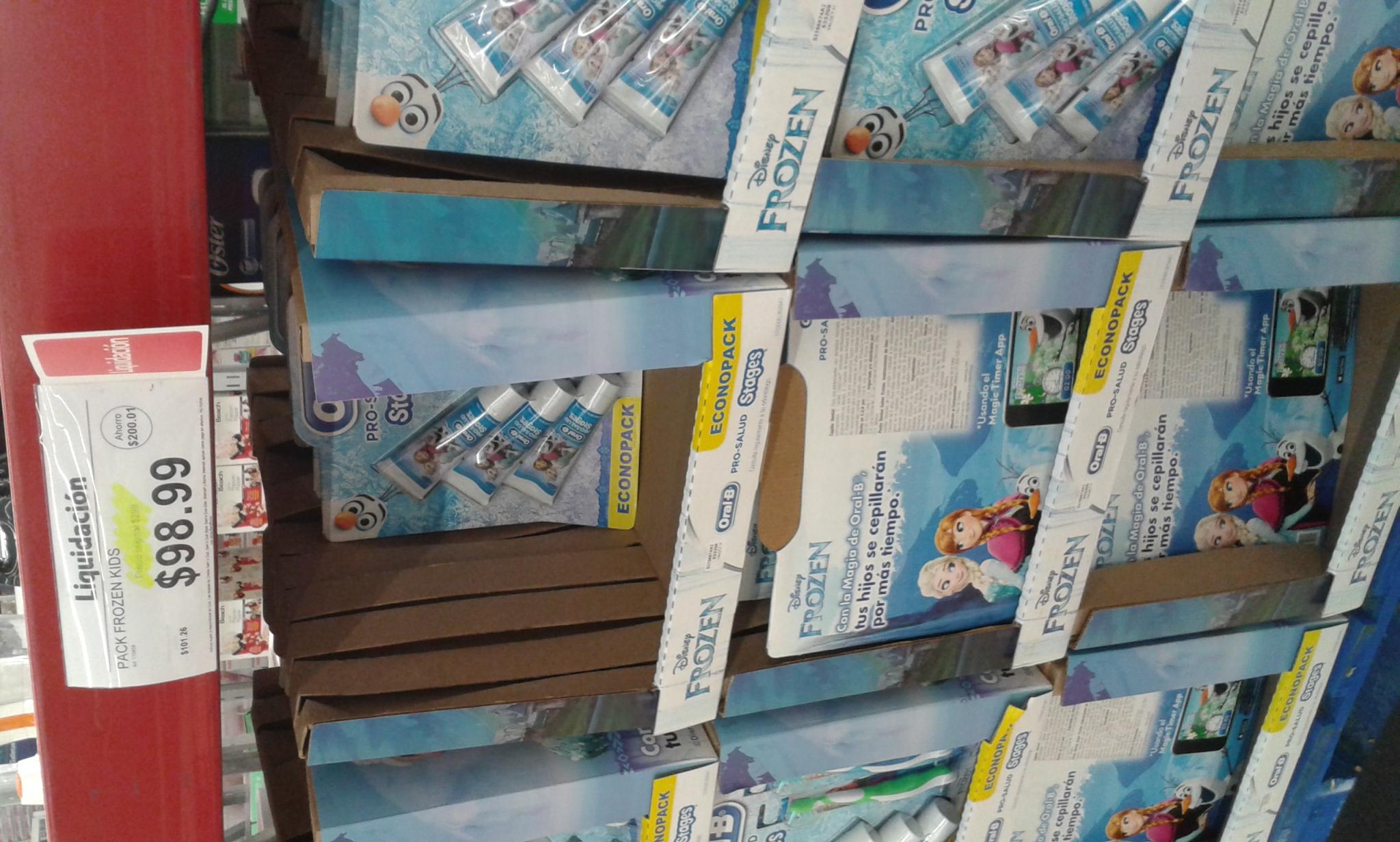 Sam's Club: Pack Frozen Kids a $98.99