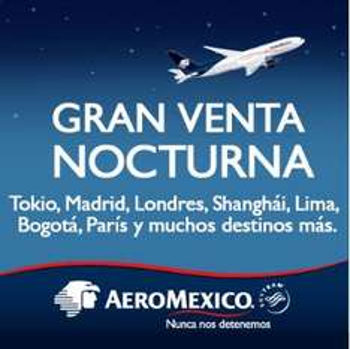 Venta Nocturna Aeroméxico enero 24