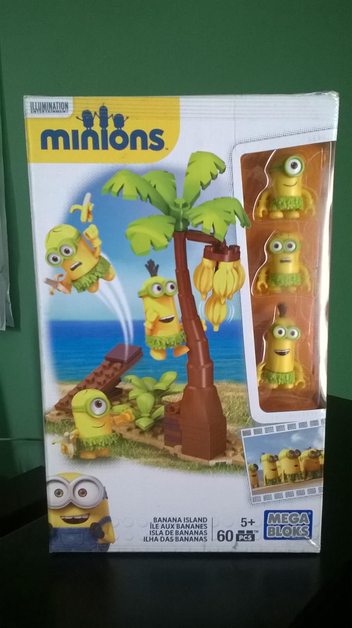 Waltmart Mil Cumbres Morelia: Isla de Bananas, Megabloks Minions a $35.01