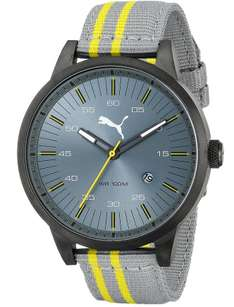 Amazon: Reloj Puma Cool Gris Amarillo