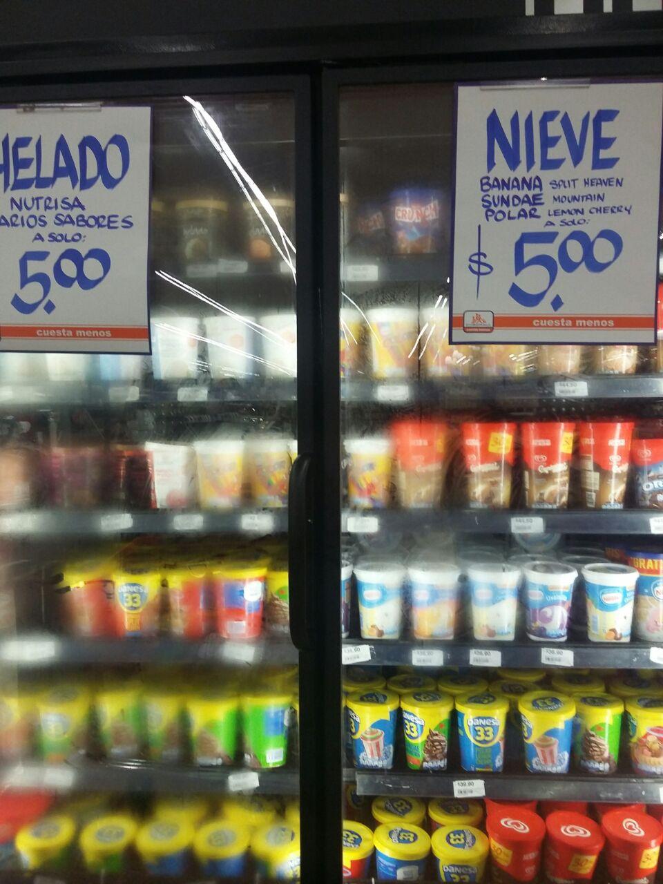Chedraui Plaza Cristal Tampico: helados Danesa 33 en oferta ¡vaaaa de nuez llevele barata por que se deshace