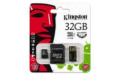 Amazon: Kingston Digital Mobility Kit MBLY10G2 / 32GB Incluye Lector de Tarjetas de Memoria Flash de 32Gb