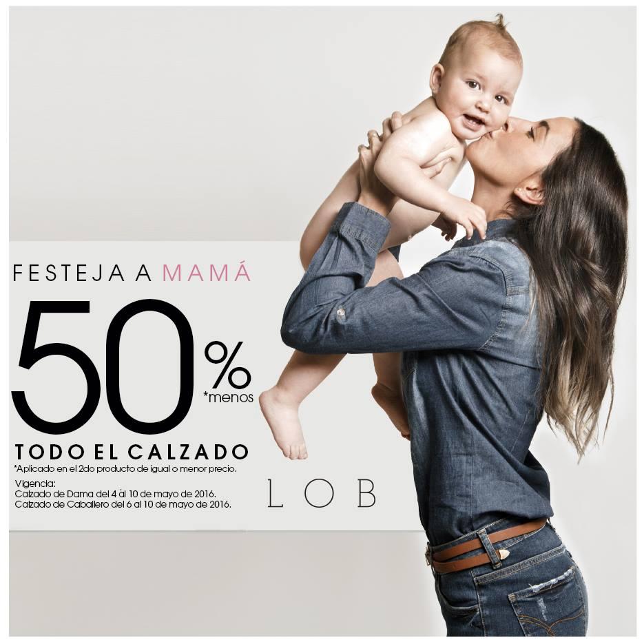 LOB en línea y tienda: 50% en el segundo par de calzado