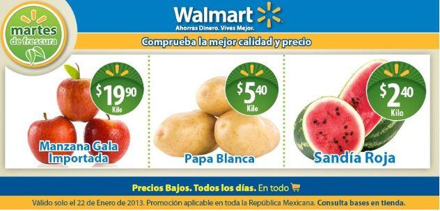 Martes de frescura de Walmart enero 22: sandía $2.40, manzana $19.90 y más