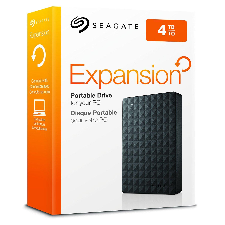 Amazon USA: Seagate Expansion 4TB Portable External Hard Drive USB 3.0
