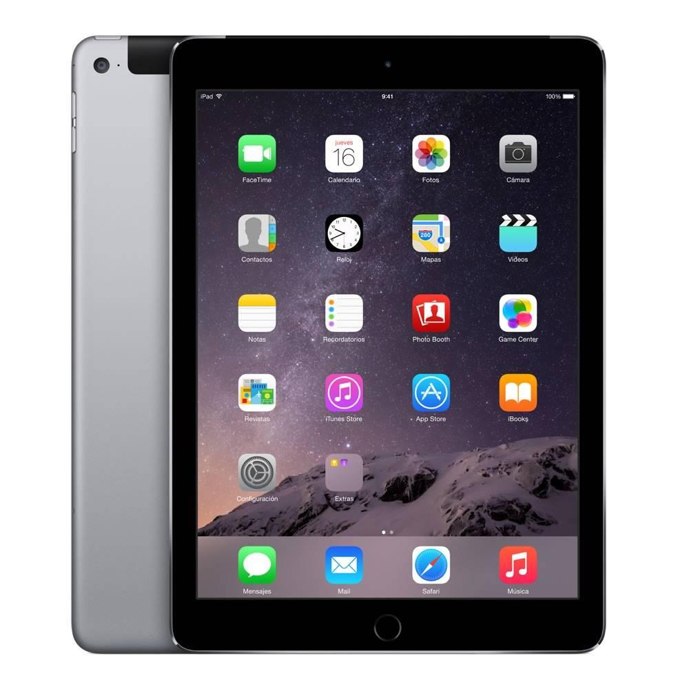 Walmart en línea: iPad Air 2 Wifi + Cell de 16GB Space Gray a $6,999