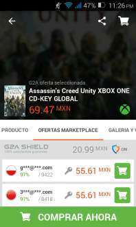 G2A: Assassin's Creed Unity Xbox One