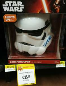 Walmart: Lampara de pared 3D de Star Wars a $225.02 y más