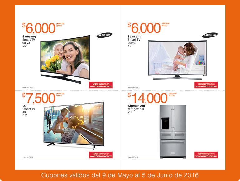 Folleto de ofertas en Costco del 9 de mayo al 5 de junio