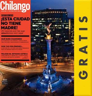 Sanborns: revistas digitales gratis mayo (Chilango, Glamour y más)