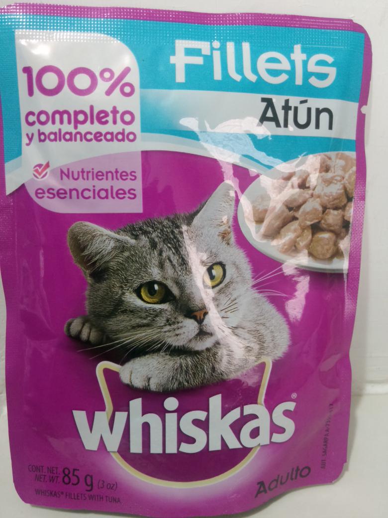 Mega Comercial Mexicana: Alimento Whiskas para gatos a $4.75