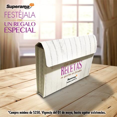 Promoción día de las madres Superama: portacetario gratis con compra