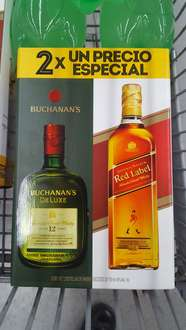 Sam's Club Ixtapaluca: Paquete de Buchanan's 12 Years y Johnnie Walker Red Label de 750ml