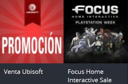 Playstation Store: Ventas de Ubisoft y Focus Home