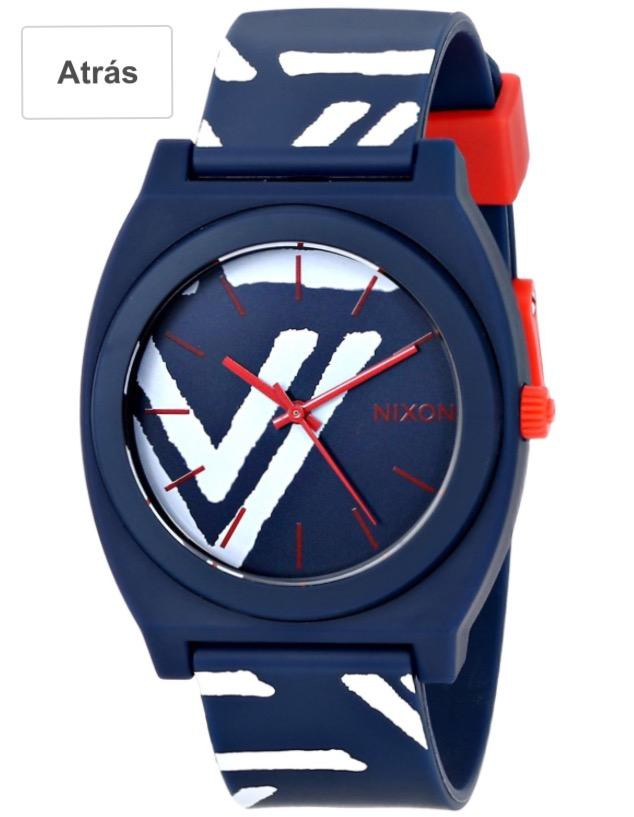 Amazon: Reloj Nixon UNISEX Navy/Coral a $580.75