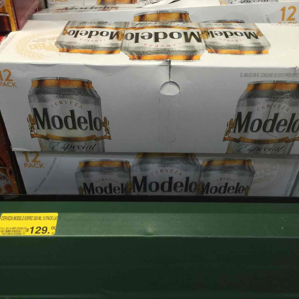 Soriana Cuitláhuac: cerveza Modelo especial 12 pack a $129