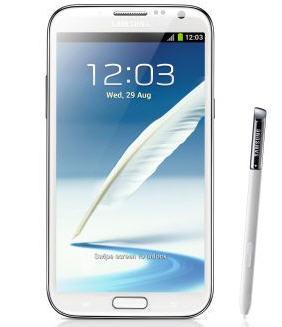 Galaxy Note II a $1,719 en plan de $349 mensuales (¿excepto región 9?).