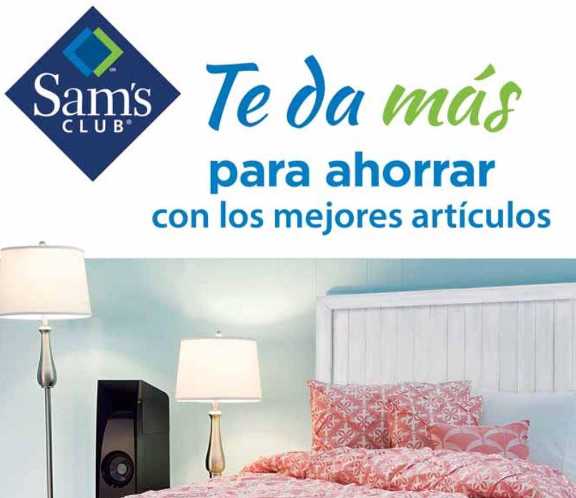 Sam's Club: cuponera mayo 2016