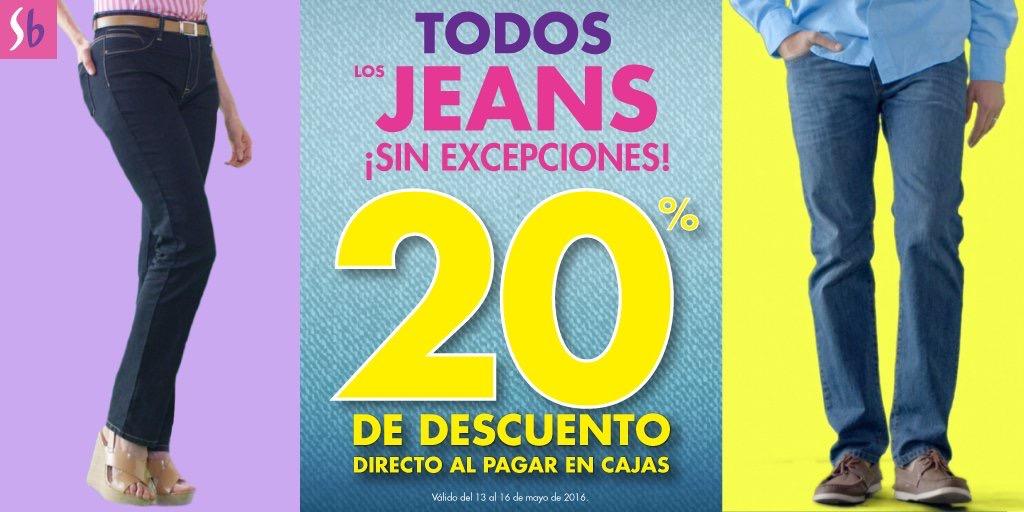 Suburbia: 20% de descuento en todos los Jeans