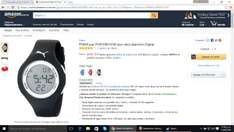 Amazon: reloj puma digital negro en $446 pesos