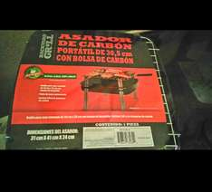 Walmart Unidad Las Torres: Parrilla para asar portátil a $95.02