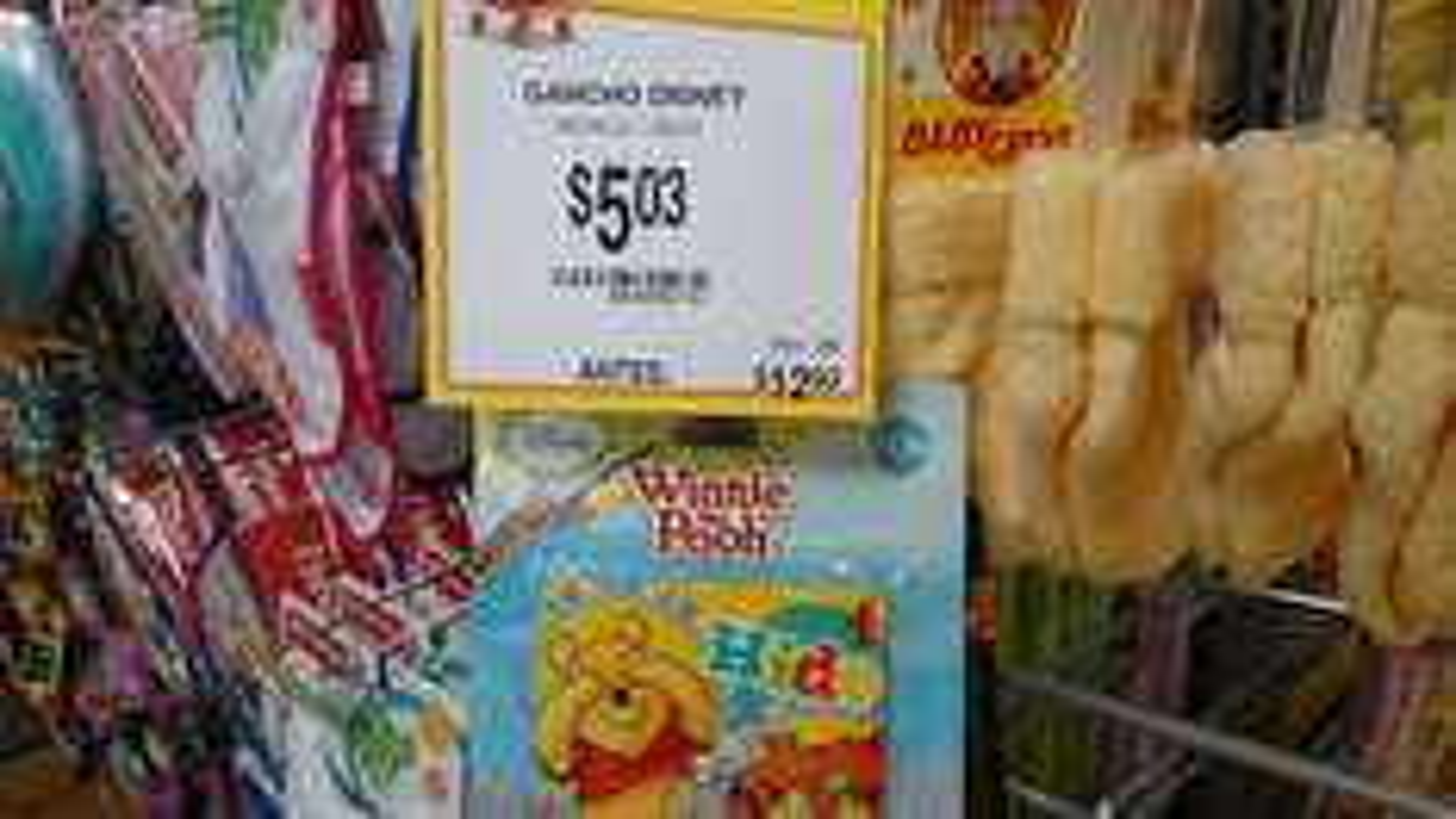 Walmart: Ganchos de Disney en $5.03