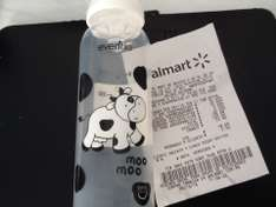 Walmart Reforma, Pue: Biberon Evenflo a $5.03