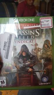 Coppel: Assassin's Creed Syndicate Xbox One y Play 4 a $409