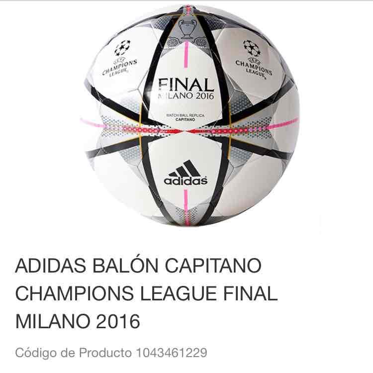 Liverpool en línea: Balon Champions Legue a $399