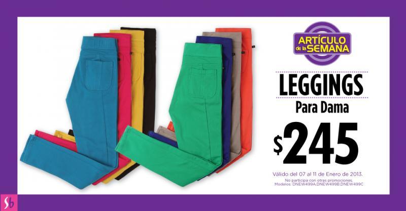 Artículo de la semana en Suburbia: leggins para dama $245