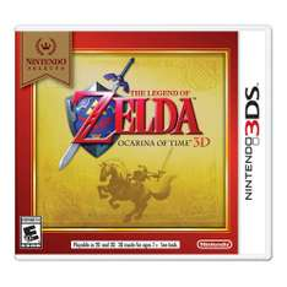 Walmart en línea: Zelda Ocarina del tiempo para N3DS a $499