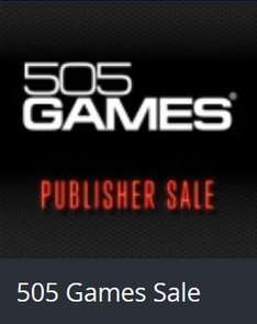 Playstation Store: 505 Games Sale