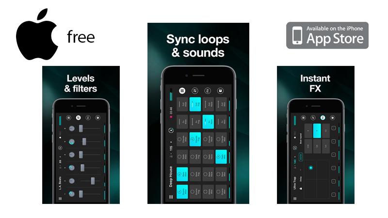 App Store: App de Música REMIXLIVE como descarga GRATUITA por 24 horas en iTunes.