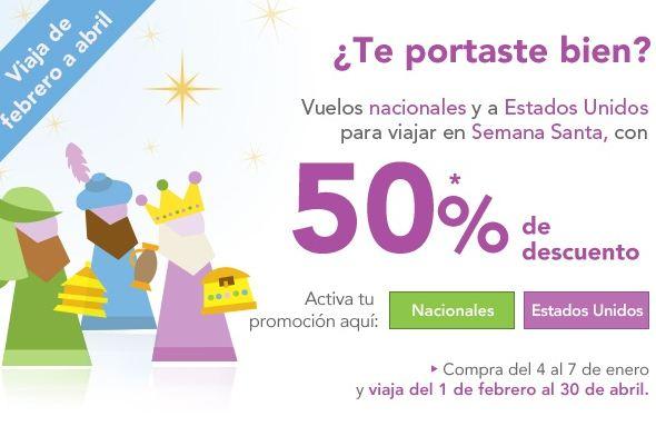 Volaris: 50% de descuento para Semana Santa y más promociones
